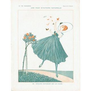 フランスの雑誌挿絵 〜LA VIE PARISIENNE〜より(Zyg Brunner)0316