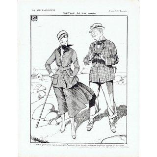 フランスの雑誌挿絵 〜LA VIE PARISIENNE〜より(ジョルジュ・レオネック/Georges Léonnec)0319
