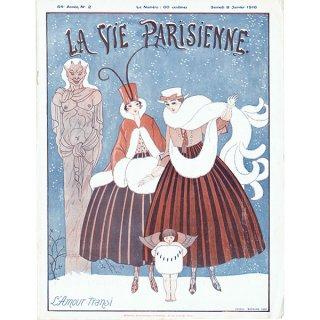 ジョルジュ・バルビエ(George Barbier)フランスの雑誌表紙 〜LA VIE PARISIENNE〜より 0323