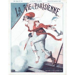 フランスの雑誌表紙 〜LA VIE PARISIENNE〜より(ジョルジュ・レオネック/Georges Léonnec)0322
