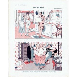 フランスの雑誌挿絵 〜LA VIE PARISIENNE〜より(ファビアン・ファビアーノ/Fabien Fabiano)0326