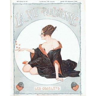 フランスの雑誌表紙 〜LA VIE PARISIENNE〜より(ジョルジュ・レオネック/Georges Léonnec)0330