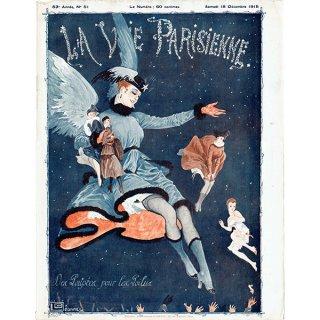 フランスの雑誌表紙 〜LA VIE PARISIENNE〜より(ジョルジュ・レオネック/Georges Léonnec)0331
