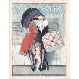 フランスの雑誌表紙 〜LA VIE PARISIENNE〜より(Julien Jacques Leclerc)0334
