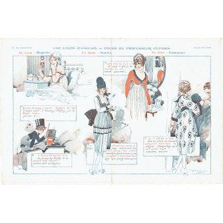 フランスの雑誌挿絵 〜LA VIE PARISIENNE〜より(ルネ・ヴィンセント/René Vincent)0340