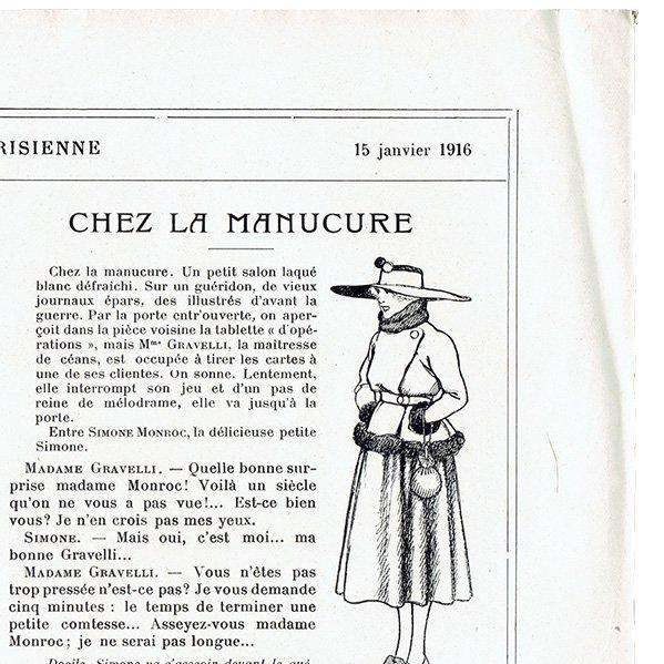 ゲアダ・ヴィーイナ(Gerda Wegener)フランスの雑誌挿絵 〜LA VIE PARISIENNE〜より 0345