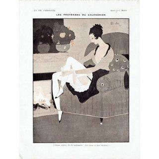 フランスの雑誌挿絵 〜LA VIE PARISIENNE〜より(シャルル・マルタン/Charles Martin)0348