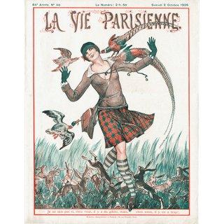 フランスの雑誌表紙 〜LA VIE PARISIENNE〜より(Vald'Es)0349