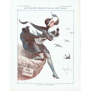 フランスの雑誌挿絵 〜LA VIE PARISIENNE〜より アンリ・ジェルボー(Henry Gerbault) 0350