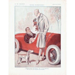 フランスの雑誌挿絵 〜LA VIE PARISIENNE〜より(ジョルジュ・レオネック/Georges Léonnec)0352