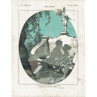 フランスの雑誌挿絵 〜LA VIE PARISIENNE〜より(シェリ・エルアール/Chéri Hérouard)0358