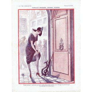 フランスの雑誌挿絵 〜LA VIE PARISIENNE〜より(Georges Alfred Pavis)0360