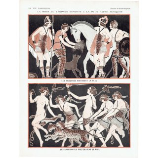 フランスの雑誌挿絵 〜LA VIE PARISIENNE〜より(Joseph Kuhn-Régnier)0361