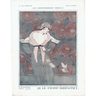 フランスの雑誌挿絵 〜LA VIE PARISIENNE〜より(シャルル・マルタン/Charles Martin)0364