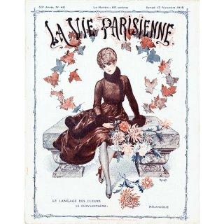 フランスの雑誌表紙 〜LA VIE PARISIENNE〜より(シェリ・エルアール/Chéri Hérouard)0365