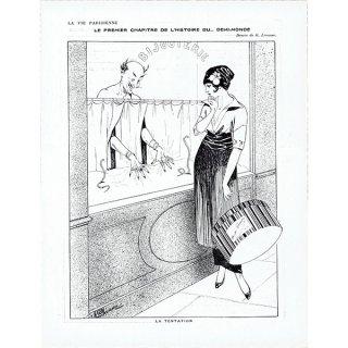 フランスの雑誌挿絵 〜LA VIE PARISIENNE〜より(ジョルジュ・レオネック/Georges Léonnec)0366