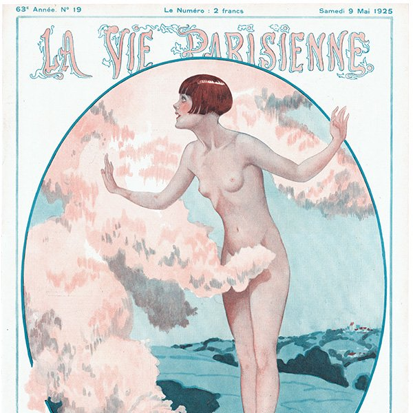フランスの雑誌表紙 〜LA VIE PARISIENNE〜より(ジョルジュ・レオネック/Georges Léonnec)0367