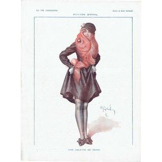 フランスの雑誌挿絵 〜LA VIE PARISIENNE〜より アンリ・ジェルボー(Henry Gerbault) 0369