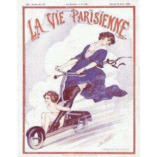 フランスの雑誌表紙 〜LA VIE PARISIENNE〜より(Léo Fontan/レオ・フォンタン)0374