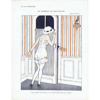 フランスの雑誌挿絵 〜LA VIE PARISIENNE〜より(ファビアン・ファビアーノ/Fabien Fabiano)0376