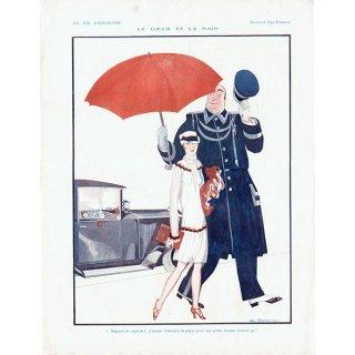 フランスの雑誌挿絵 〜LA VIE PARISIENNE〜より(Zyg Brunner)0379