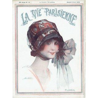 フランスの雑誌表紙 〜LA VIE PARISIENNE〜より(Léo Fontan/レオ・フォンタン)0383