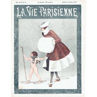 フランスの雑誌表紙 〜LA VIE PARISIENNE〜より(ジョルジュ・レオネック/Georges Léonnec)0387