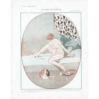 フランスの雑誌挿絵 〜LA VIE PARISIENNE〜より (René Préjelan)0389