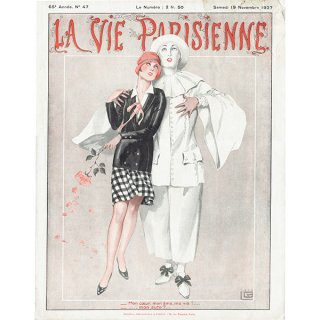 フランスの雑誌表紙 〜LA VIE PARISIENNE〜より(ジョルジュ・レオネック/Georges Léonnec)0391