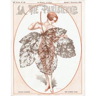 フランスの雑誌表紙 〜LA VIE PARISIENNE〜より(シェリ・エルアール/Chéri Hérouard)0392