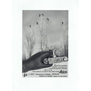 Leica(ライカ) フランスのヴィンテージ広告 1942年 0202
