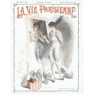 フランスの雑誌表紙 〜LA VIE PARISIENNE〜より (René Préjelan)0396