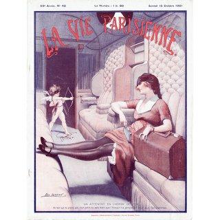 フランスの雑誌表紙 〜LA VIE PARISIENNE〜より(Léo Fontan/レオ・フォンタン)0398