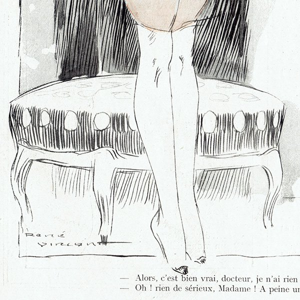 フランスの雑誌挿絵 〜LA VIE PARISIENNE〜より(ルネ・ヴィンセント/René Vincent)0403