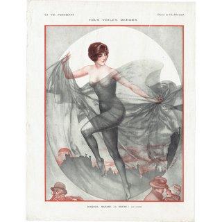 フランスの雑誌挿絵 〜LA VIE PARISIENNE〜より(シェリ・エルアール/Chéri Hérouard)0407