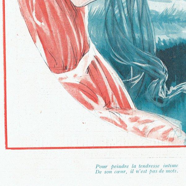フランスの雑誌挿絵 〜LA VIE PARISIENNE〜より(モーリス・ミリエール/Maurice Milliere)0408