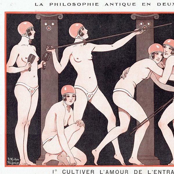 フランスの雑誌挿絵 〜LA VIE PARISIENNE〜より(Joseph Kuhn-Régnier)0410