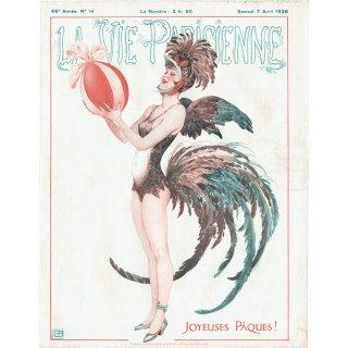 フランスの雑誌表紙 〜LA VIE PARISIENNE〜より(ジョルジュ・レオネック/Georges Léonnec)0412