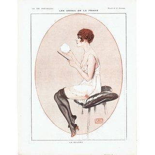 フランスの雑誌挿絵 〜LA VIE PARISIENNE〜より(ジョルジュ・レオネック/Georges Léonnec)0413