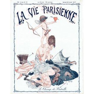 フランスの雑誌表紙 〜LA VIE PARISIENNE〜より(シェリ・エルアール/Chéri Hérouard)0414