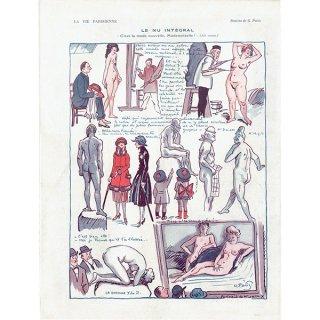 フランスの雑誌挿絵 〜LA VIE PARISIENNE〜より(Georges Alfred Pavis)0415