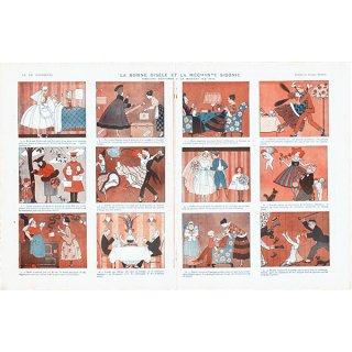 ジョルジュ・バルビエ(George Barbier)フランスの雑誌挿絵 〜LA VIE PARISIENNE〜より0421