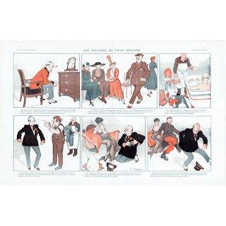 フランスの雑誌挿絵 〜LA VIE PARISIENNE〜より(ファビアン・ファビアーノ/Fabien Fabiano)0422