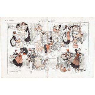 フランスの雑誌挿絵 〜LA VIE PARISIENNE〜より(ルネ・ヴィンセント/René Vincent)0423