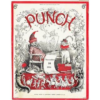 イギリスの週刊風刺漫画雑誌PUNCH(パンチ)1954年11月10日号 0203