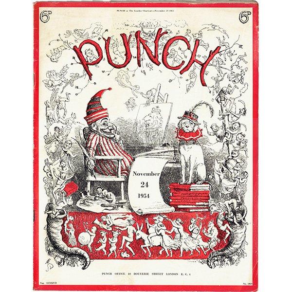 イギリスの週刊風刺漫画雑誌PUNCH(パンチ)1954年11月24日号 0204