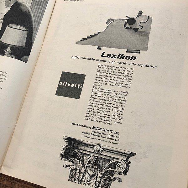 イギリスの週刊風刺漫画雑誌PUNCH(パンチ)1955年1月19日号 0206
