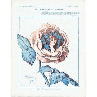 フランスの雑誌挿絵 〜LA VIE PARISIENNE〜より アンリ・ジェルボー(Henry Gerbault) 0425