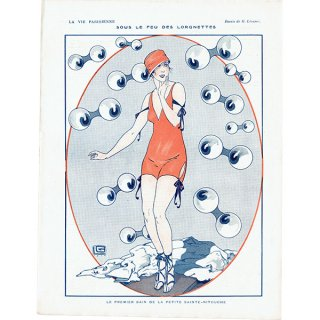 フランスの雑誌挿絵 〜LA VIE PARISIENNE〜より(ジョルジュ・レオネック/Georges Léonnec)0429