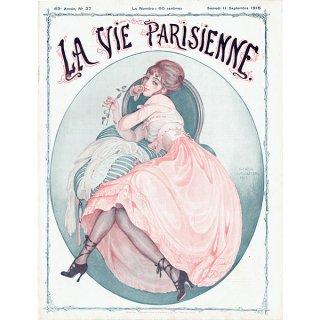 ゲアダ・ヴィーイナ(Gerda Wegener)フランスの雑誌表紙 〜LA VIE PARISIENNE〜より 0431